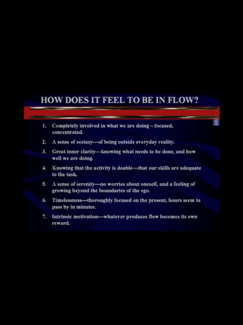 Get Into The Flow helping your staff to get into the flow state – mentorphile