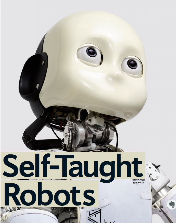 self taught robots
