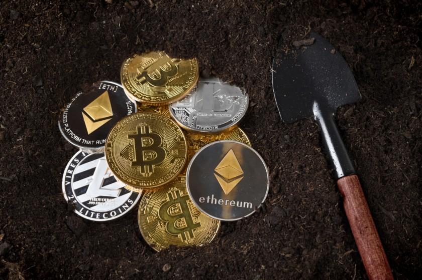 Bitcoin Litecoin Ethereum mining